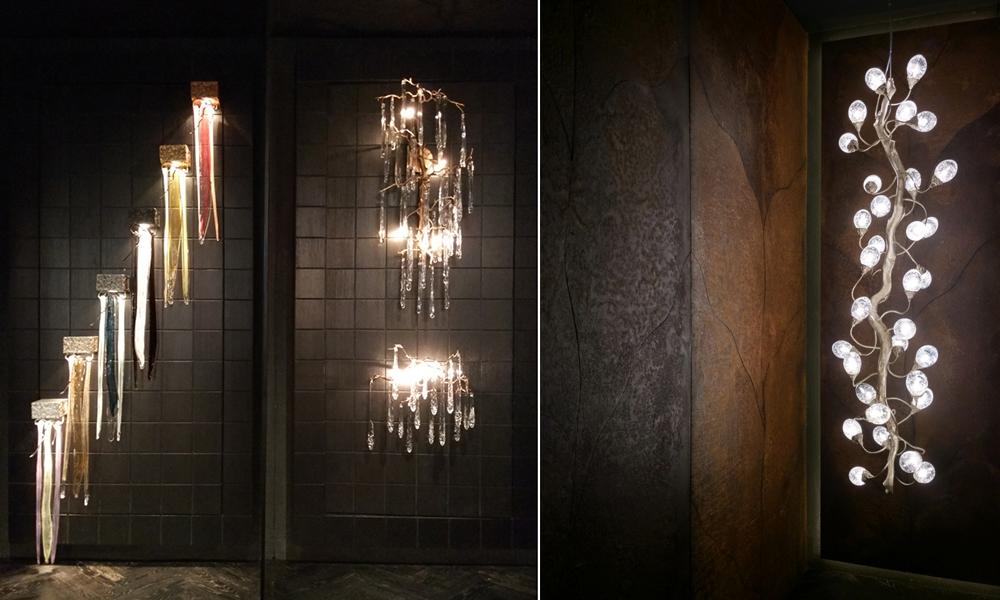 Lampu Dekoratif Kreasi Serip Organic Lighting Athome