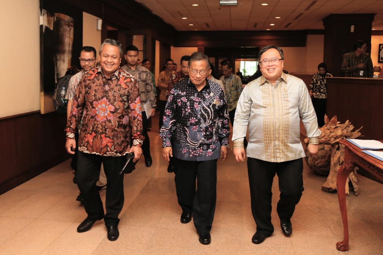 Gubernur Bank Indonesia, Menko Perekonomian dan Menteri Bappenas